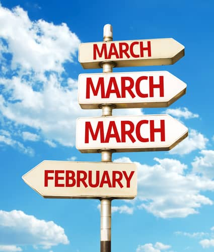 The Final Stretch of February